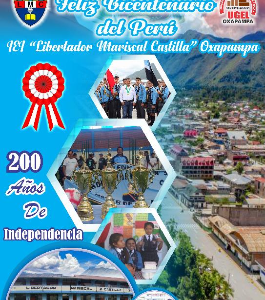 Feliz Bicentenario del Perú – felices fiestas padrias